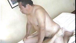 Japanese Old Man Fucks His Secretary