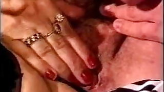 FRENCH MATURE n37redhead anal mature with two young men