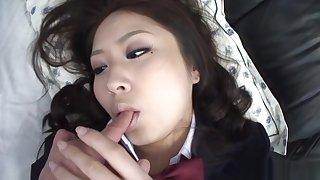 Juri Sawaki top rated POV Japanese schoolgirl coitus