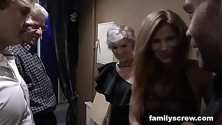 Horny Backstage Visits Swingers Mould