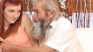 Elderly pussy lips first time Unexpected experience with an