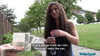 This amateur is a true fuck doll and she loves money as A well