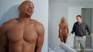 Big ass cougar ends up drilled added to jizzed by a black stallion
