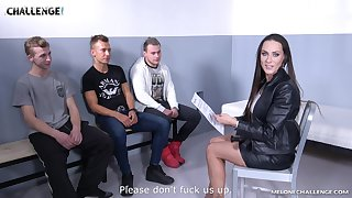 Hardcore shagging between a lucky tiro and Czech star Mea Melone