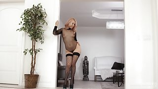 Hot ass pornstar Aaliyah Love spreads her legs to be fucked