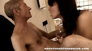 Young Petra gets nailed by an old dude