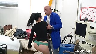 MMV FILMS Anal The Hot German Inspector