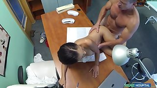 Russian chick gives doctor a sexual premises